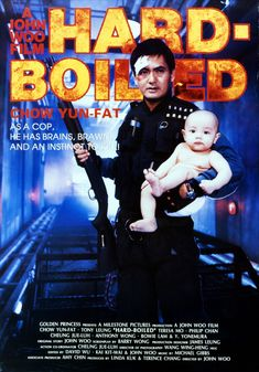 Hard Boiled , starring Yun-Fat Chow, Tony Leung Chiu Wai, Teresa Mo, Philip Chan. A tough-as-nails cop teams up with an undercover agent to shut down a sinister mobster and his crew. #Action #Crime #Drama #Thriller