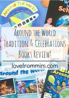Around the World Tradition and Celebrations Books Review - www.lovefrommim.com Harmony Month Educational Experience