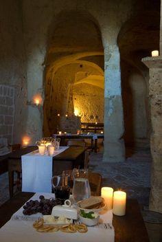 Prehistoric Sextantio Le Grotte della Civita Cave Hotel in Italy (17)Esplora | Sextantio-