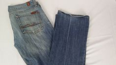 7 For All Mankind Womens Jeans 29 Bootcut #7ForAllMankind #BootCut