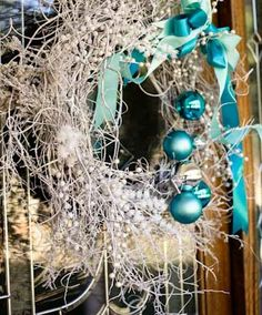 DIY Christmas Wreaths for Front Door - Christmas Branch Wreath - Click Pick for 24 Easy Christmas Decorating Ideas