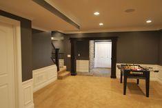 Patrick Basement - traditional - basement - detroit - by Plan-2-Finish, Inc.