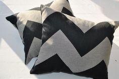 Prickiga systrar- Chevron pillowcase | kuddfodral http://prickigasystrar.blogg.se