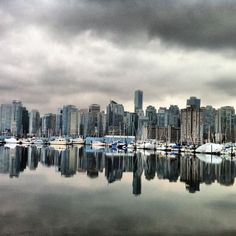 Vancouver reflections...very moody. Though its always been sunny when I've been there. :) Share, Like, Repin! Also find us at instagram.com/mightytravels