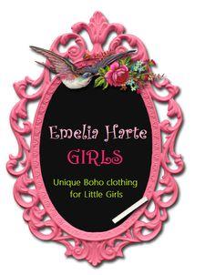 Emelia Harte Girls www.emeliaharte.etsy.com www.facebook.com/EmeliaHarteGirls