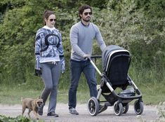 Carl Philip and Princess Sofia were were seen in Djurgarden
