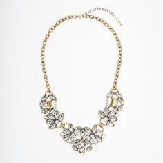Gold Crystal Luxe Necklace