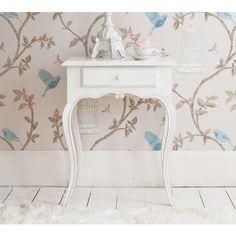 Provencal White Bedside Table | Bedside Table