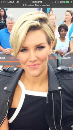 Charissa Thompson short hair More