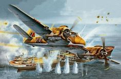 Bristol Beaufighter Mk VI (Tamiya box art)