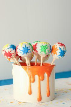 Splatter and Splash Summertime Art Party