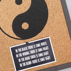 Yin Yang, Wooden Frames, Cork, Special Occasion, New Homes, Social Media, Prints, Handmade, Etsy