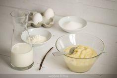 Crema pastelera rápida, desde Webos Fritos. Facilisima de hacer.