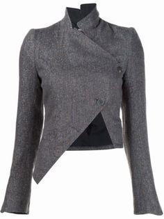Ann Demeulemeester Asymmetric Jacket - Vitkac - Farfetch.com