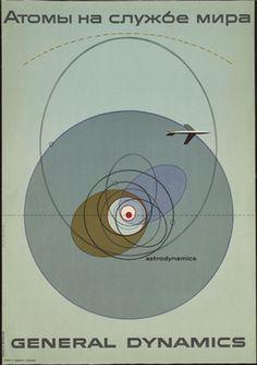 Erik Nitsche. Atoms for Peace, General Dynamics. 1955