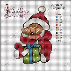 Christmas pattern by Viviane Pontos e Art's