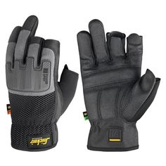 These Snickers 9586 Power Open Gloves feature reinforced knuckles for support and high protection. They conform to EN388 3111, mechanical risk.