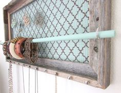 Jewelry Organizer Barnwood Jewelry Holder Soft by TheHopeStack, $65.95