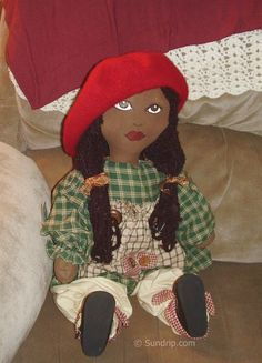 African Rag Doll Patterns | ... .com/wp-content/uploads/2010/12/African-American-rag-doll-Lisa.jpg