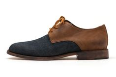 Esquivel (Men's) Hunter 2014 (Waxed Denim, Brandy)