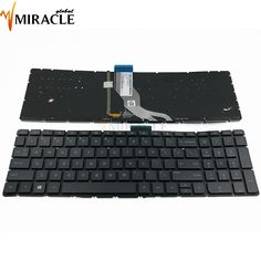 Check it out: Laptop Keyboard For HP Pavilion 15-AB291TX AB292TX AB525TX TPN-Q173 replacement with backlit US English HPM14M33USJ920