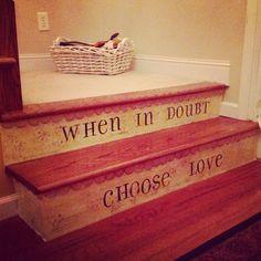 My new stair art! Love it!