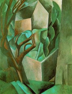Small House in the Garden, 1908 by Pablo Picasso
