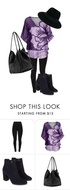 """Purple blouse"" by michellesfashioncompany on Polyvore featuring Simply Aster, Monsoon, Proenza Schouler and Maison Michel"