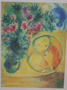 Chagall Limited Edition Print 'Sun and Mimosa' 1949