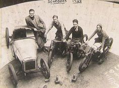 Scarboro 1932, Wall of Death crew