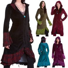 Velvet boho coat, steampunk #corset coat, gothic velvet coat, psy #trance #clothi,  View more on the LINK: 	http://www.zeppy.io/product/gb/2/381892020721/