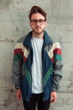90s windbreaker outfit - Google Search