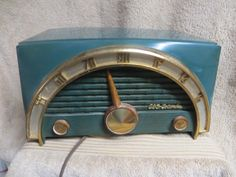 C 1950 CBS Columbia Model 5165 Green Pastic Tube Radio | eBay