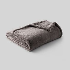 Fuzzy Blanket Twin Dark Gray - Threshold -  Fuzzy shopping is alive and well on Pinterest. Compare prices for this @ Wrhel.com before you commit to buy. #Wrhel #Fashion #Fuzzy
