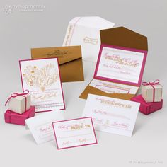 Cute wedding stationary set!