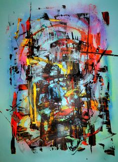 "Saatchi Art Artist David Chevtaikin; Painting, ""Blade Runner"" #art"