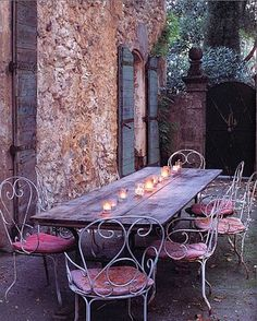 An evening in France...