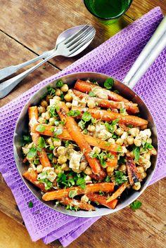 Vuohenjuustoiset porkkanat | Intia | Pirkka #food #vegetarian