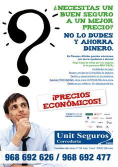 Flyer para campaña de seguros
