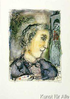Marc Chagall - Autoportrait