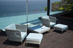 Ideal Garden Furniture Materials Garden Furniture, Modern Furniture, Home Furniture, Outdoor Furniture Sets, Furniture Design, Outdoor Decor, Furniture Ideas, Villa, Dog Design