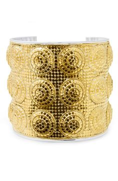 Anna Beck wide dome cuff bracelet