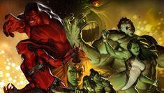 Una dinastía de ira contenida, conoce a la familia de Hulk