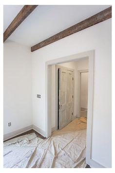 Dark Trim, Grey Trim, White Trim, Revere Pewter, Home Renovation, Home Remodeling, Kitchen Renovations, Home Modern, Modern Rustic