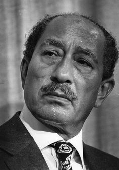 Anwar El Sadat - Third president of Egypt that took the country to a whole new direction of bringing power to the people. He knew there would be a good chance he would be assassinated for trying to bring peace in the region.