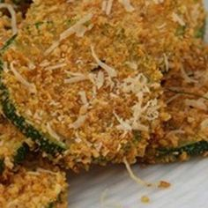 Baked Italian Zucchini Chips - The Best Recipes from Our Favorite Healthy Food Blogs - Shape Magazine