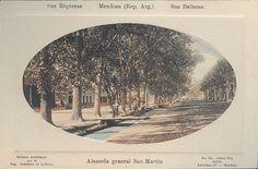 Mendoza Antigua, fotos y postales muy antiguas Segunda Parte