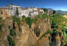 The town of Ronda in Malaga, Spain.