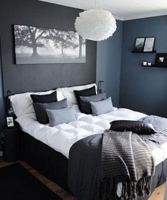 47 Brilliant Scandinavian Bedroom Design Ideas Schlafzimmer Raumtrenner More from my site SOUTH BY SEA Bedroom Sets, Home Decor Bedroom, Master Bedroom, Bedroom Alcove, Bedroom Wall, Mens Room Decor, Bedding Decor, Bedroom Girls, Queen Bedroom