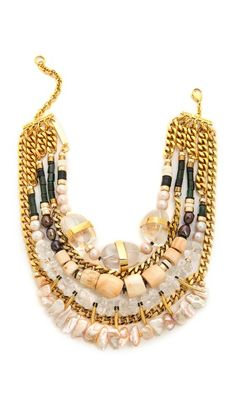 Lizzie Fortunato Excess and Elegance Necklace